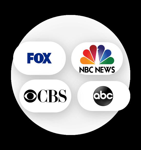 Fox ABC NBC