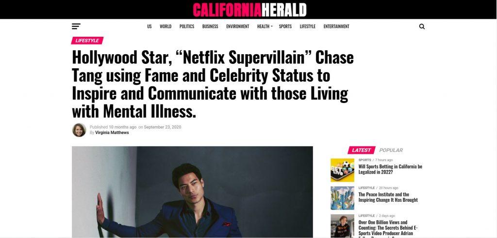 Chase Tang California Herald